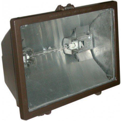 Orbit Qh300-wh 300w Outdoor Quartz Flood Light W/ 120v Lamp -wht (Minimum 10)