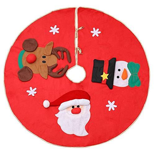 SZRWD Weihnachtsdecke,Christbaumdecke,Weihnachtsbaumdecke,Hergestellt Aus Vliesstoff, Kann Als Weihnachtsbaumdekoration Verwendet Werden