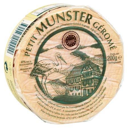 Petit Munster Géromé französischer Weichkäse, 50% Fett 200 g