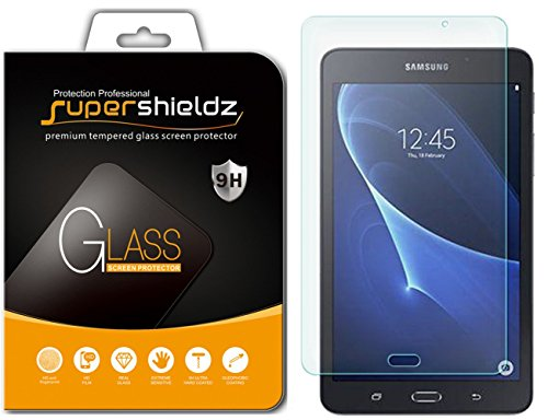 Supershieldz for Samsung Galaxy Tab A 7.0 inch (SM-T280) Tempered Glass Screen Protector, Anti Scratch, Bubble Free