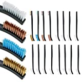ASR Outdoor .22 Caliber Gun Cleaning Kit Brushes Canvas Pouch 10 Piece Set