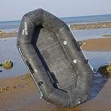 SMEI Durable Inflable Espesa Caucho Dinghy De Calidad Militar Kayak Barco De Pesca Barco A La Deriva 173 * 98cm Rodamiento 150 Kg