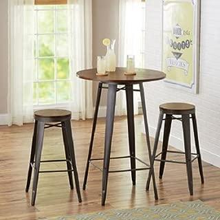 Better Homes and Gardens Harper 3-Piece Pub Set Bar-Style 42
