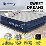 Bestway Air Mattress Camping Inflatable beds Sleeping Mat-King Size
