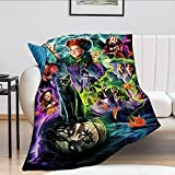 """Blanket Soft Warm Plush Throw Blanket for Couch – Comfortable Lightweight Microfleece Travel Blanket 50"""" x 40"""""""