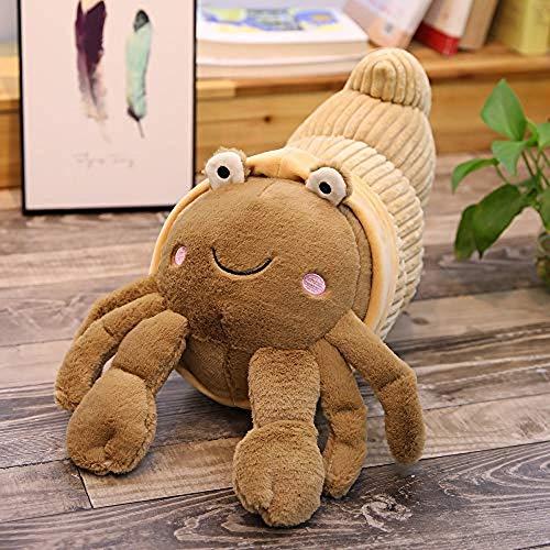 Kpcxdp Niedliche Einsiedlerkrebs Krabbenpuppe Aquarium Puppe Plüschtier Kindergeschenk 35 cm lang D