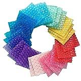 Papel Burbujas Embalaje, 60-100 Uds10*15cm 15*20Cm 20*20Cm 20*25Cm Colores Surtidos En Forma De Corazón Bolsas De Burbujas De Plástico Bolsas De Burbujas Envoltura De Amortiguación 20*25cm/60pcs