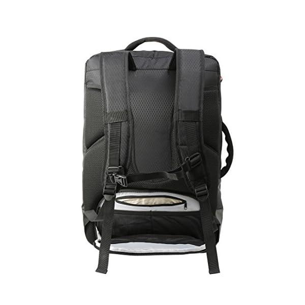 51zAYsDR7cL. SS600  - Cabin Max Santiago - Mochila para Portátil y Tablet para Viajar - 55x40x20 - Bolsillo Acolchado para Portátil…