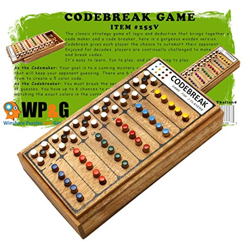 Mastermind Wooden Brain Teaser Game