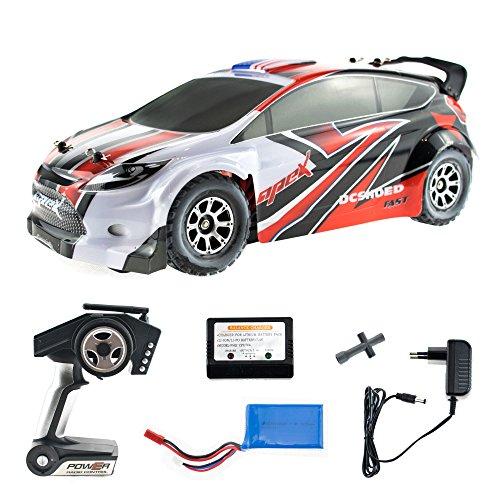 efaso WL Toys A949 - schneller RC Rally Street Racer - 50 km/h schnell, wendig, voll digital proportional - 2.4 GHz RC Auto mit Allradantrieb - Maßstab 1:18, hoher Fun Faktor