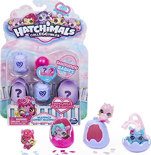 Hatchimals CollEGGtibles, Shimmer Babies Multipack con...