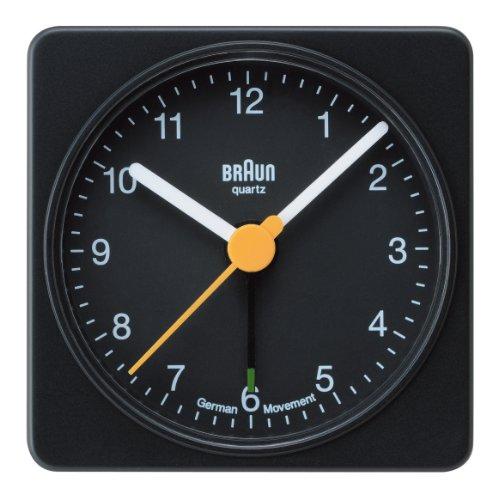 【正規輸入品】 BRAUN 目覚まし時計 BNC002BKBK。