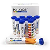 Micro Essential Hydrion 165/1-12 Wide Range pH Test Strip with Colorimetric Chart, 1-12 pH Range (Case of 10)