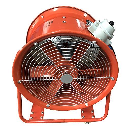 Extractor de aire a prueba de explosiones del taller del ventilador axial portátil industrial de 18 pulgadas