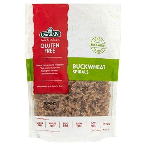 Orgran Gluten Free Buckwheat Spirals 250g - Pack of 6