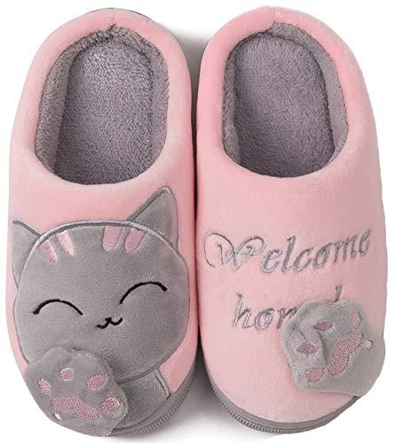 ChaxChay Zapatillas de Estar por Casa Lindo Animados para Niños Mujer...