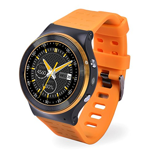 chebao, Smart Watch, Kalorienzähler, Uhr, S99 Android 5.1 Smart Watch Telefon 4-Core WCDMA MTK6580M 5MP Kamera 8G App-121266.03