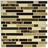 Quinco SM1034-6 Wall Tile, 10.2 in L X 9.1 in W X 3/4 in T, Keystone,...