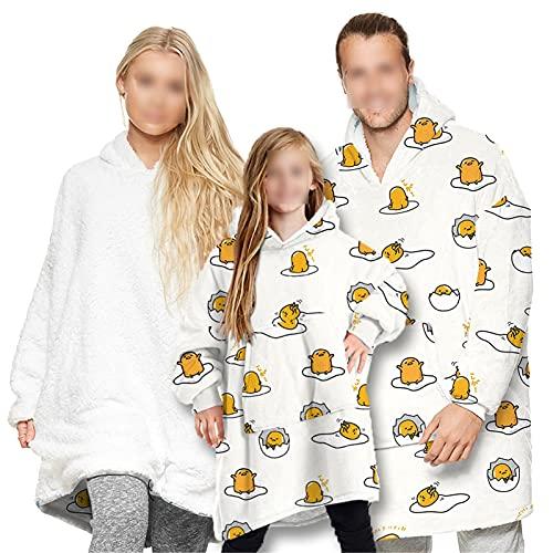 HGYJ Batamanta,Ropa para Padres e Hijos, niños Adultos, Pijamas de Manta, suéter...