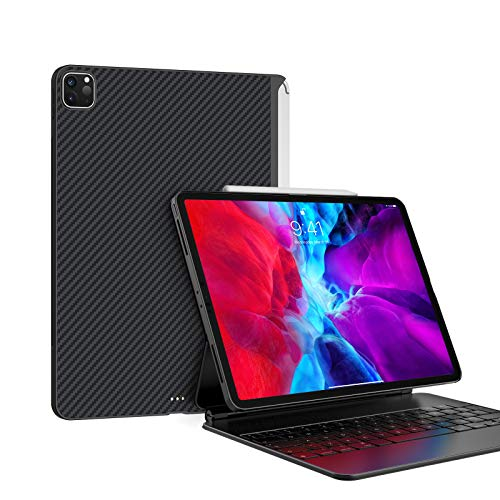 PITAKA Magnetic Case for iPad Pro 12.9 Inch 2020 (4th Generation) & 2018[MagEZ Case], Ultra Slim...
