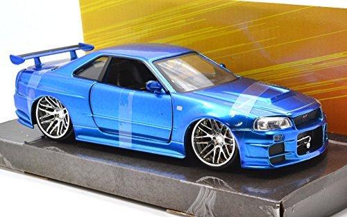 ジャダトイズ(jada toys) JadaToys 1:24scale FAST & FURIOUS 4 BRAIAN'S NISSAN SKYLINE GT-R R34 ジェイ...