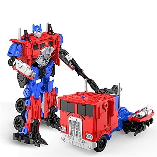 GYTH Transformers Toys Studio Serie Optimus Prime Bumblebee Ironhide Starscream Transformers Figuras de acción Deformación colectible Juguetes para automóviles para niños ( Size : B ) ✅