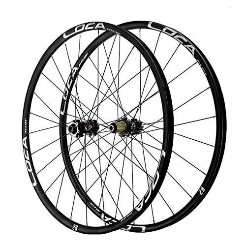 TYXTYX Ejes de liberación rápida Accesorio para Bicicleta Juego de Ruedas de Bicicleta para 26'27.5' 700C 29'Ruedas de Bicicleta de Carretera de montaña Eje pasante MTB Juego de Ruedas traseras d