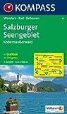 Salzburger Seengebiet, Kobernaußerwald: Wander-, Bike- und Skitourenkarte. GPS-geeignet.