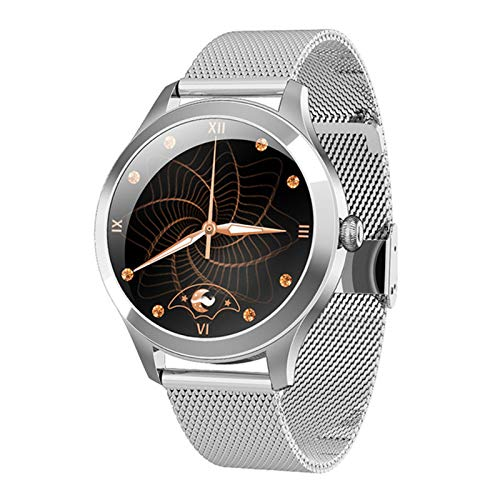 KW10PRO Smart Watch Mujer Full Touch Full Touch IP68 Pulsera Impermeable Monitor de Ritmo cardíaco Monitoreo del sueño Smartwatch para Mujeres,B