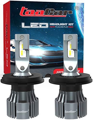 Ampoule H4 LED Canbus 12000LM 6500K, Garantie 3 Ans. TAACAR.