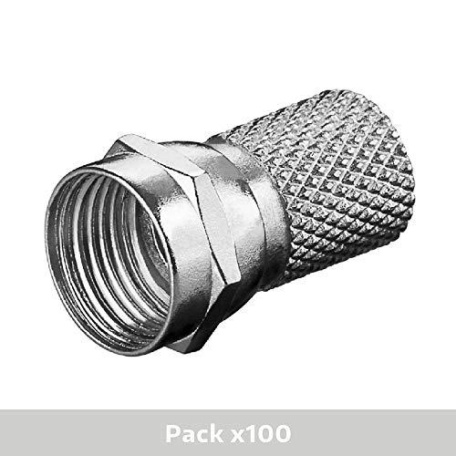 Diesl.com - Conector F (100 Unidades)