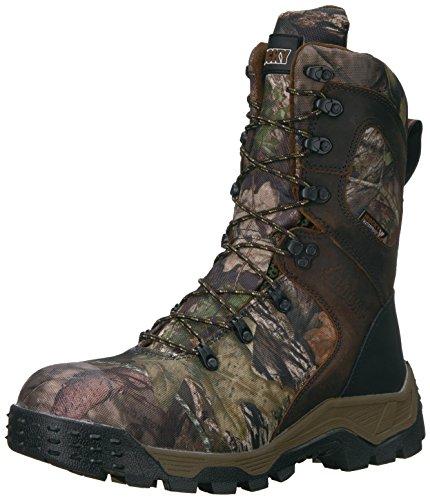 Rocky Men's RKS0309 Mid Calf Boot, Mossy Oak Break Up Country Camoflauge, 9.5 M US