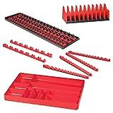 Ernst Manufacturing Tool Organizer Pro Pack, Red