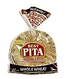 Whole Wheat Pocket Pita Bread - 8oz. (12 Bags)