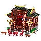 LALAmi Serie clásica china, 3820 piezas, modelo de arquitectura teatral, kit de construcción de casas, edificios modulares compatibles con Lego-type1