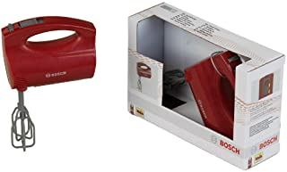 Theo Klein 9574 Bosch handmixer I Mixer op batterijen met draaiende garden I Afmetingen: 19 cm x 7 cm x 12 cm I Speelgoed ...