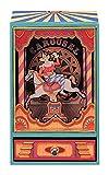 Trousselier animierte Spieluhr / Spieldose / Musikbox aus Holz mit Clown und Karussellpferd - An der schönen blauen Donau (J. Strauss)