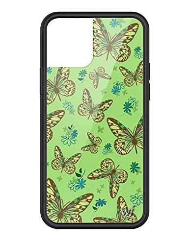 Wildflower Edizione Limitata Custodie Compatibile con iPhone 12 e 12 Pro (Farfalla di Salvia)