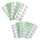 Well2wellness® 100 pastillas de prueba para piscina para oxígeno (O2)...