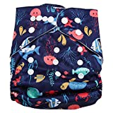 maillot de bain Swim Diaper Bébé Infant Snap Absorbant Lavable Maillot De Bain Couches Réutilisable Nappy De Natation pour Garçons Filles Natation Cours, Taille Unique(#5)