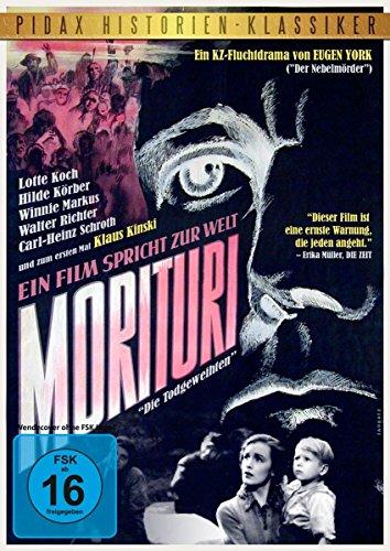 Morituri (Die Todgeweihten) - Einer der ersten und besten deutschen Spielfilme über den Holocaust (Pidax Film-Klassiker)