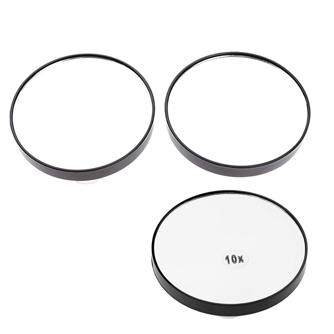 F Fityle メイクミラー 化粧鏡 吸盤付き 浴室化粧鏡 5倍/ 10倍拡大