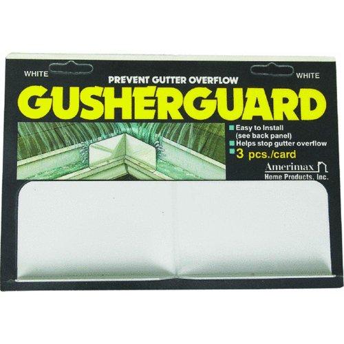 Amerimax 3PK White Gusher Guard Home Products 25074 GusherGuard, Pack of 1