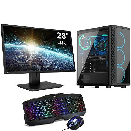 Sedatech Pack PC Pro Gaming Watercooling Intel i9-10850K 10x 3.60Ghz, Geforce RTX 3070 8Gb, 32Gb RAM DDR4, 500Gb SSD NVMe M.2 PCIe, 3Tb HDD, USB 3.1, WiFi, Monitor 28' 4K, t/r, Win 10