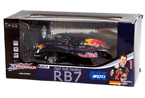 RED BULL RACING RB7 VETTEL WELTMEISTER AUTO 2011 REMOTE CONTROL 1:24