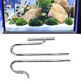 Limpiador automático para acuarios, limpiador eléctrico para acuarios de limpieza rápida con 1 limpiador automático para acuarios 1X Juego de accesorios para pescar(With degreasing film, 16/22mm)