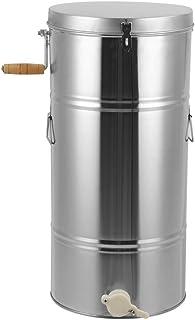 Cocoarm Manuelle Honigschleuder Honey Extractor 2 Frame Extraktor Honigschleuder aus Edelstahl, 25 x 45 cm