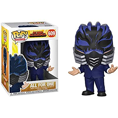 All for One: Fun?ko Pop! Animation Vinyl Figure & 1 Compatible Graphic Protector Bundle (609 - 42933 - B) by Funko