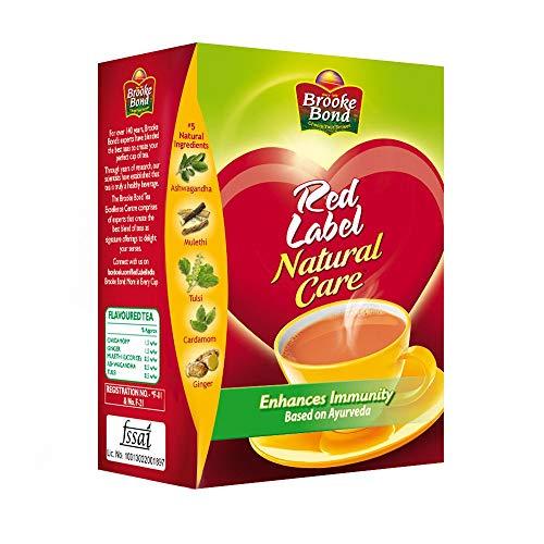 Brooke Bond Red Label Natural Care (5 Ayurvedic Ingredients) 250gms - SET OF 3