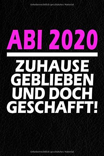 Abi 2020 - Mit Abstand Die Besten: Notizbuch I 120 Seiten I A5 I Dotted I Geschenk Für Abiturienten Zum Abitur Abschluss 2020